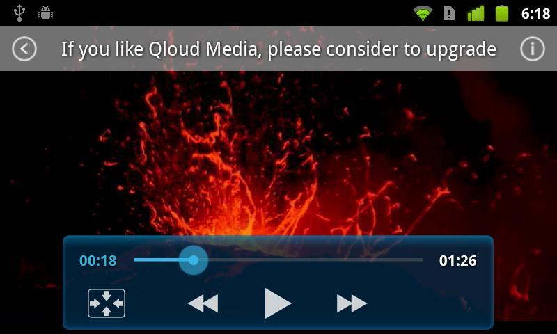 Qloud Media Free - screenshot
