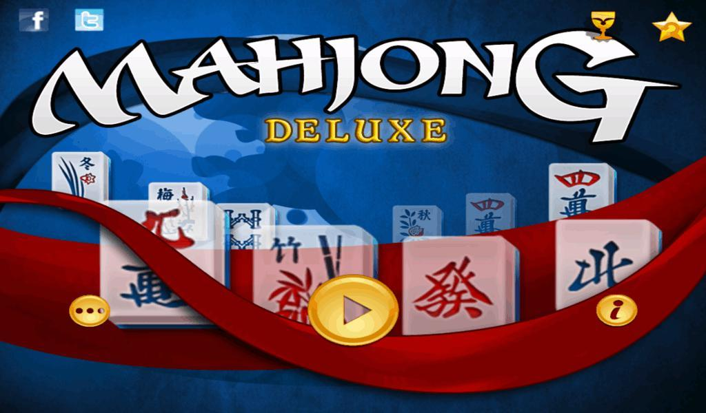 Mahjong Deluxe HD- screenshot