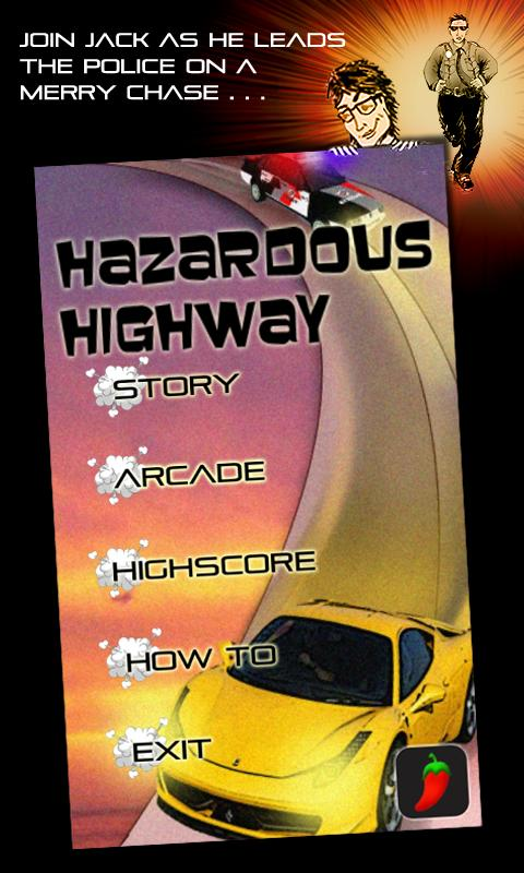 Hazardous Highway Car Racing - screenshot