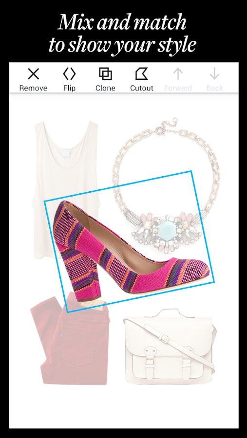 Polyvore: Style & Shop Outfits - screenshot