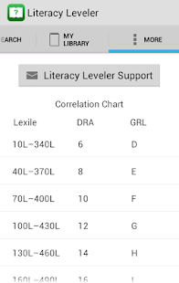 Literacy Leveler- screenshot thumbnail