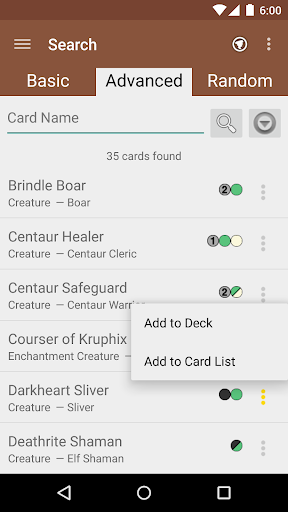 MTG Tracker & Life Counter app for Android screenshot