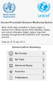Immunization Summary - screenshot thumbnail