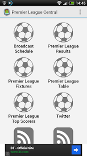 Premier League Central - screenshot thumbnail
