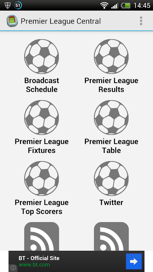 Premier League Central- screenshot