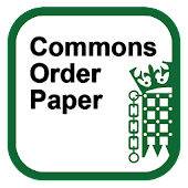 Commons Order Paper