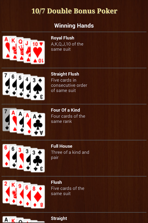 msn double double bonus poker