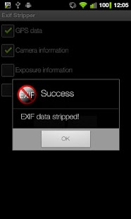 EXIF Stripper - screenshot thumbnail