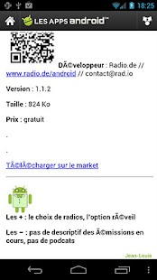 Les Applications Android (LAA) - screenshot thumbnail