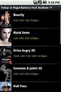 ShowTimes- screenshot thumbnail