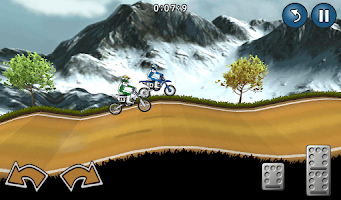 Screenshot of Motocross Racing
