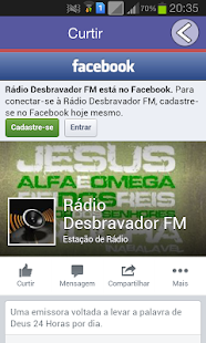 Rádio Desbravador FM- screenshot thumbnail