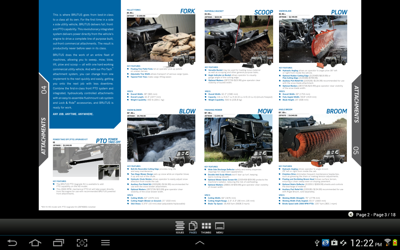 Polaris Off-Road Catalog CAN - screenshot