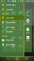 Screenshot of Xperia™FIFA® Theme