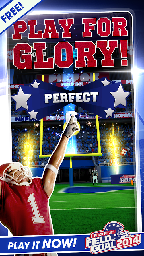 Flick Kick Field Goal 2014 - screenshot