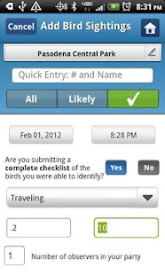 BirdLog Europe - screenshot thumbnail