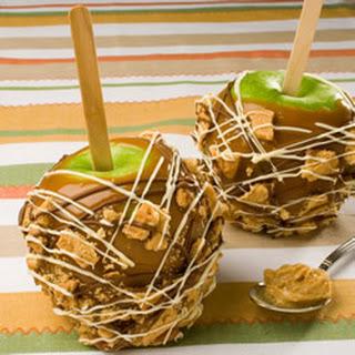 Peanut Butter Crunch Apples.