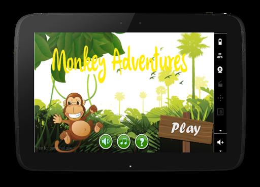 Monkey Adventures:Lost Bananas