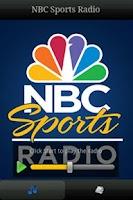 Screenshot of NBC Sports Radio