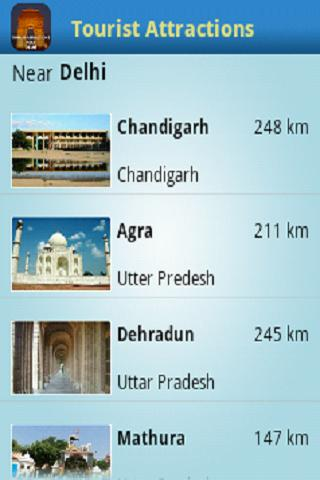 Tourist Attractions Near Delhi - screenshot