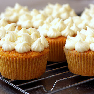 Carrot Cake With Maple-cream Cheese Frosting.