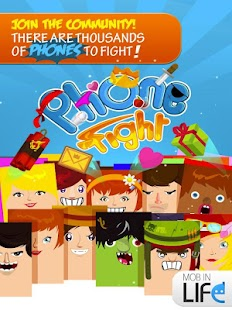 Phone Fight - Free action MMO - screenshot thumbnail