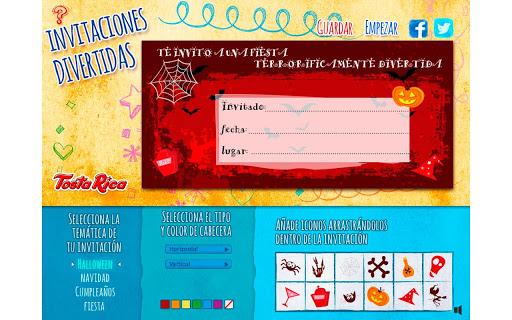 TostaRica Invitaciones