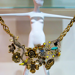 Show off by Yu Tsumura - Artistic Objects Jewelry ( show off, woman, jewelry, insects, flower )