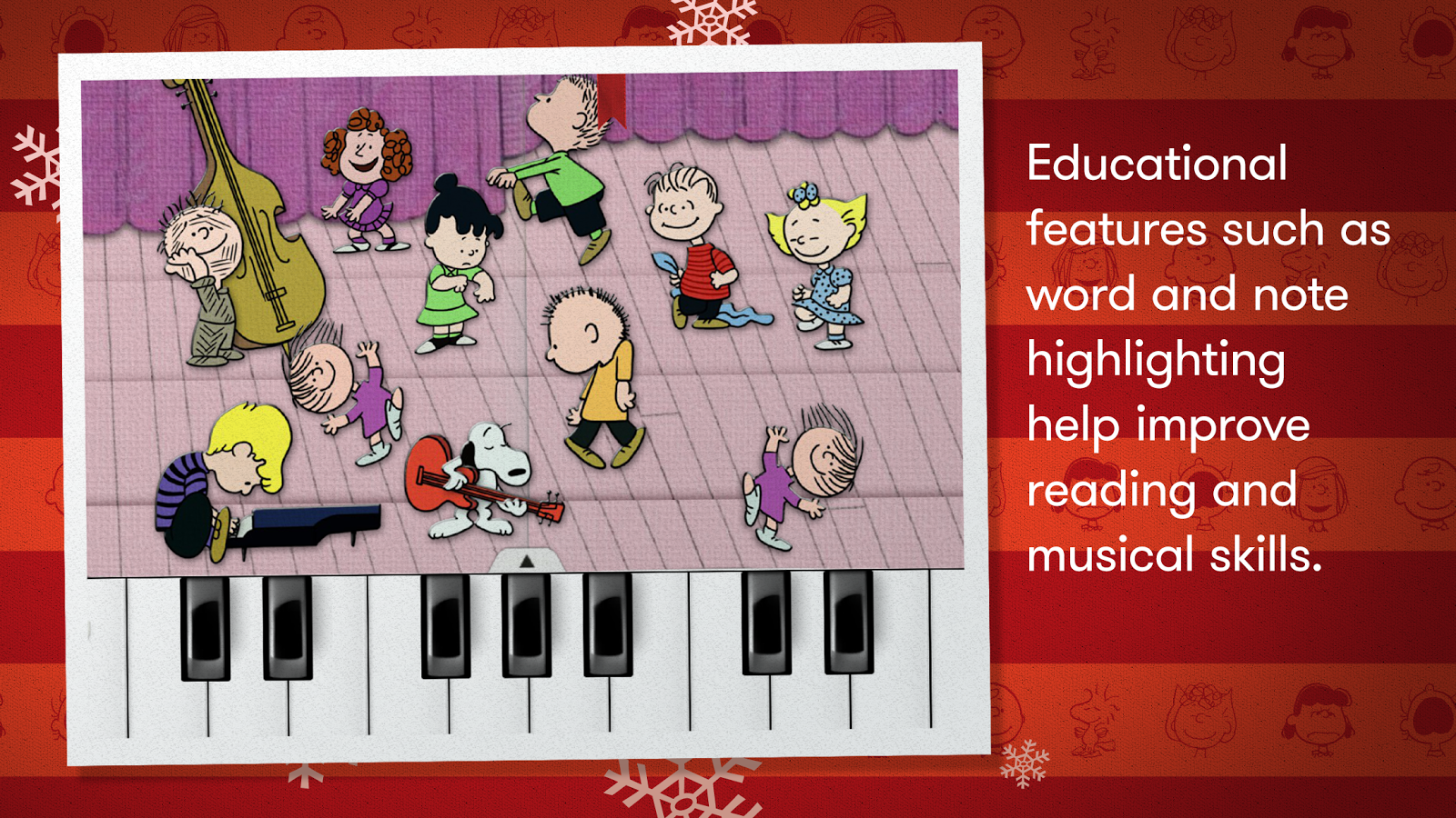 A Charlie Brown Christmas - Peanuts Read and Play- screenshot