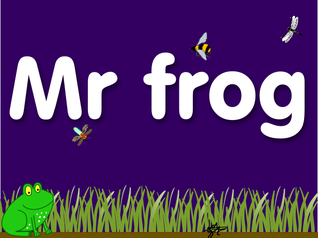 Mr frog- screenshot