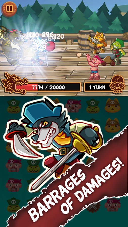 Animal Pirates- screenshot