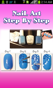 Nail Art Step By Step