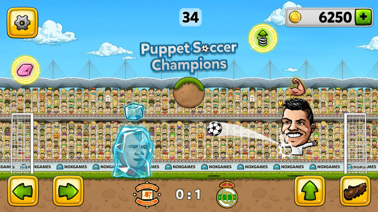 Puppet soccer champions 2014 apps para android no google play