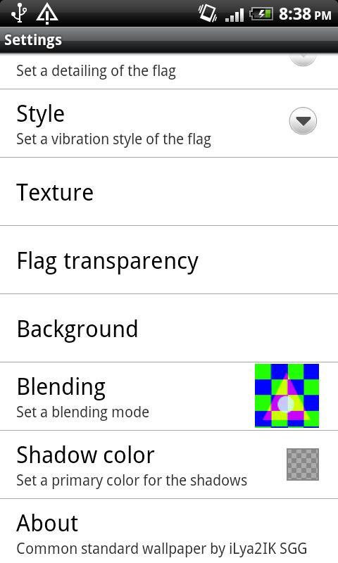 Custom Standard- screenshot