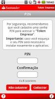 Screenshot of Token Empresa