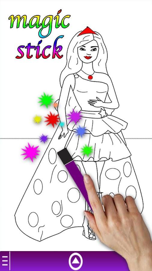 Princess Coloring Book Game - screenshot