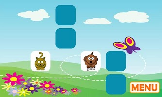 Screenshot of Preschool Animal Match Free