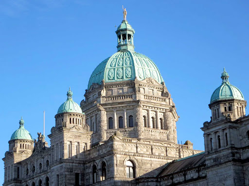 Parliament-Victoria-BC - The Parliament building in Victoria, British Columbia.