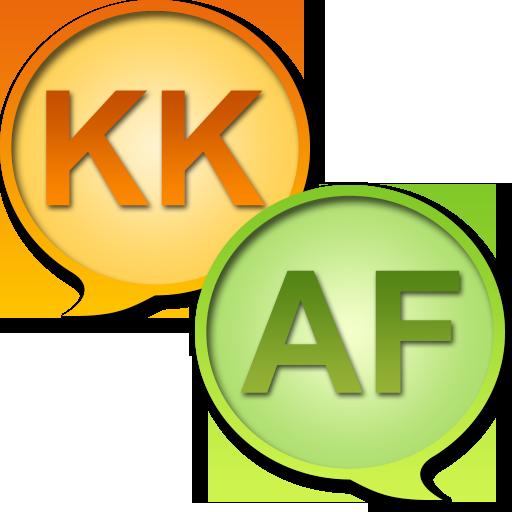 Казахский Африкаанс словарь LOGO-APP點子
