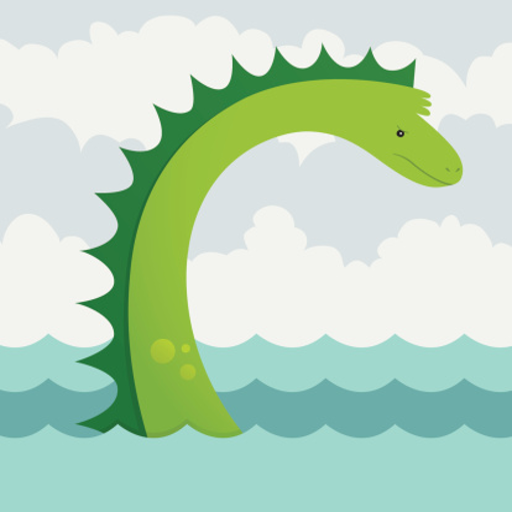 媒体与影片の湖の怪獣 - 童話 LOGO-記事Game