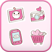 Sweetgirl icon theme