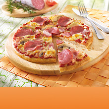 Abbildung Steinofen-Pizza Speciale
