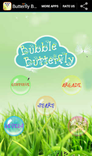 Butterfly Bubble Shooter 2014