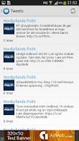 Screenshot of Døgnrapport - Politi & krimi