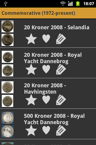 Danish Coins- screenshot