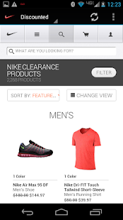 NIKE OUTLET PRO - screenshot thumbnail