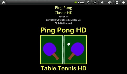 Ping Pong Classic HD- screenshot thumbnail