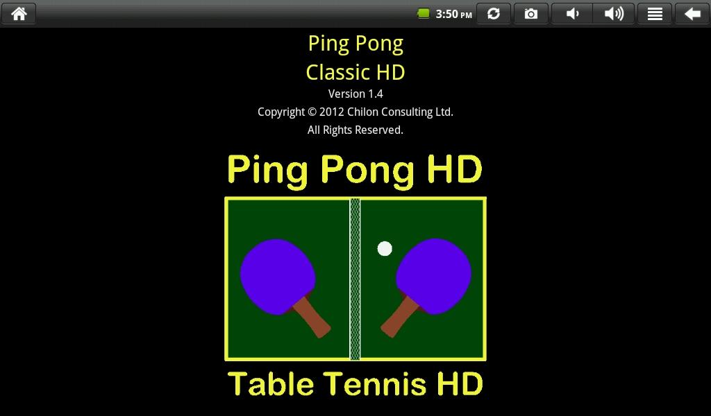 Ping Pong Classic HD- screenshot