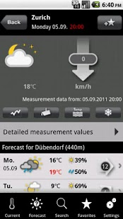 MeteoNews+ - screenshot thumbnail