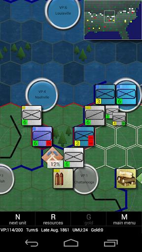 لعبة American Civil War (Conflicts) v3.6.2.6 لجوالات الاندرويد